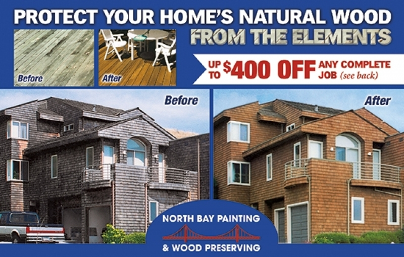 North Bay Painting & Wood Preserving | Wood Preserving