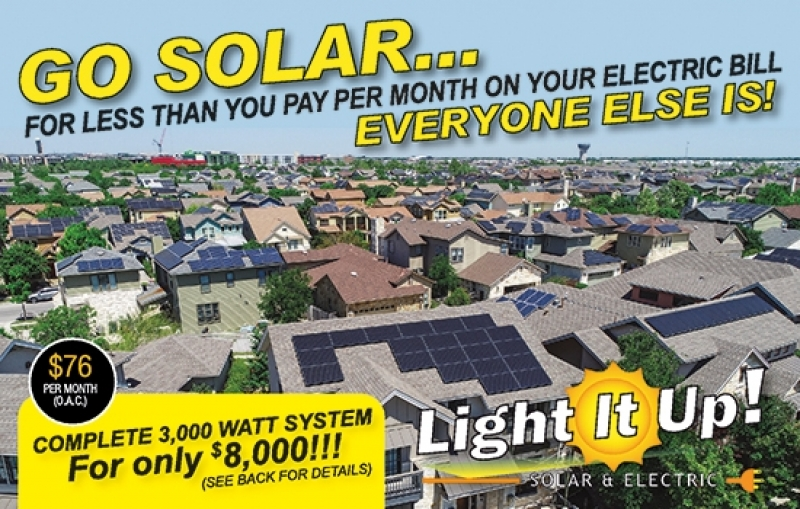 Light It Up Solar & Electric
