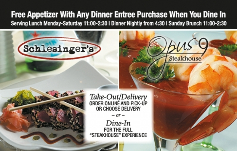 Schlesinger's | Opus 9 Steakhouse